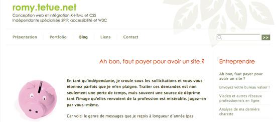 Conception web et intégration X-HTML et CSS Indépendante spécialisée SPIP, accessibilité et W3C