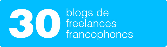 30 blogs de graphistes freelances francophones