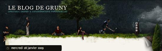 Le Blog de Gruny | Lifestyle, design & considérations personnelles
