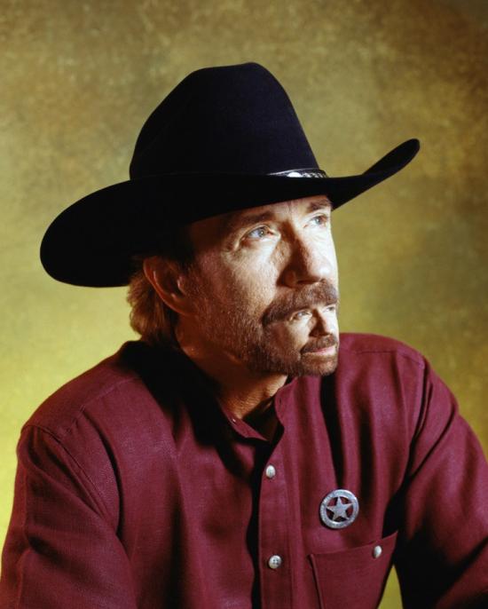 La moustache de Chuck Norris