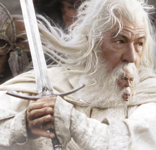 La moustache de Gandalf