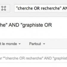 Faire une recherche sur Google+ pour trouver des projets en graphisme