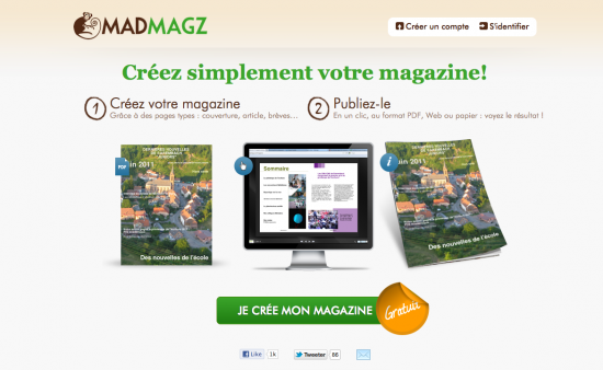 Creer un magazine en ligne gratuitement