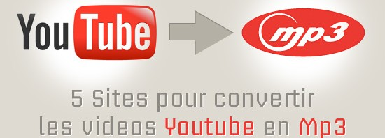 Convertir une musique de Youtube en fichier mp3