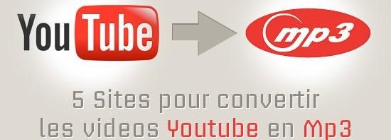 Convertir une musique de Youtube en fichier mp3