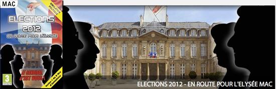 Jeu Mac de l'anne : Elections 2012
