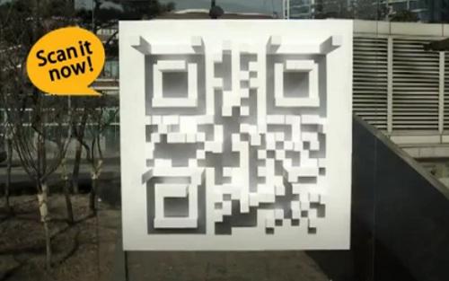 Le QR code qui revele