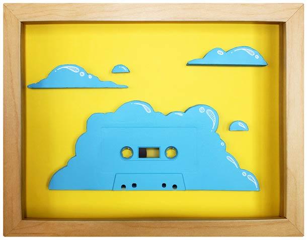 Les tableaux en cassette de Benoit Jammes