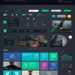 Polaris UI Free Psd
