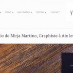 Portfolio de Mirja Martino, Graphiste  Aix-Les-Bains