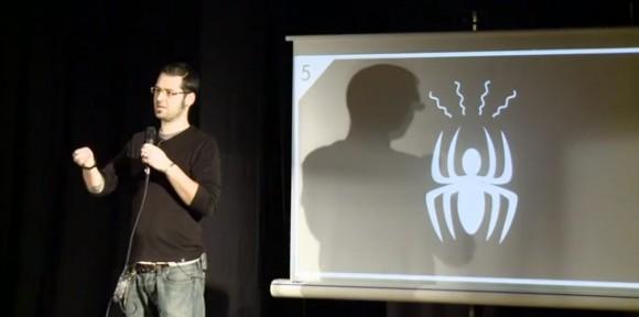 avantage d'etre créa : la sensibilité. Julien Moya