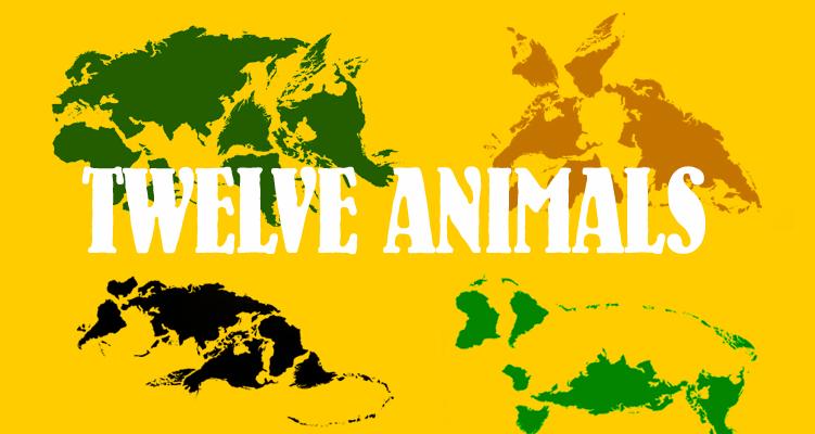TWELVE-ANIMALS