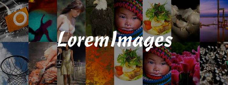 LoremImages : Le Lorem Lipsum de l'image