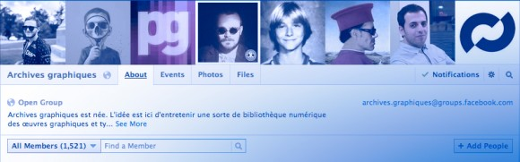 Groupe Archives Graphiques Facebook