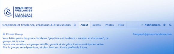 Groupe Graphiste Freelance Creation Discussion Facebook