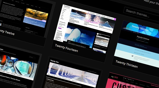 Télécharger des thèmes pour Wordpress