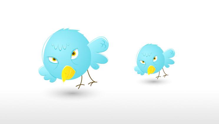 Twitter Bird Icon Free Download