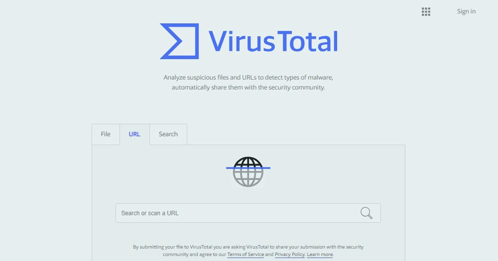 Détecter La présence de virus sur son site