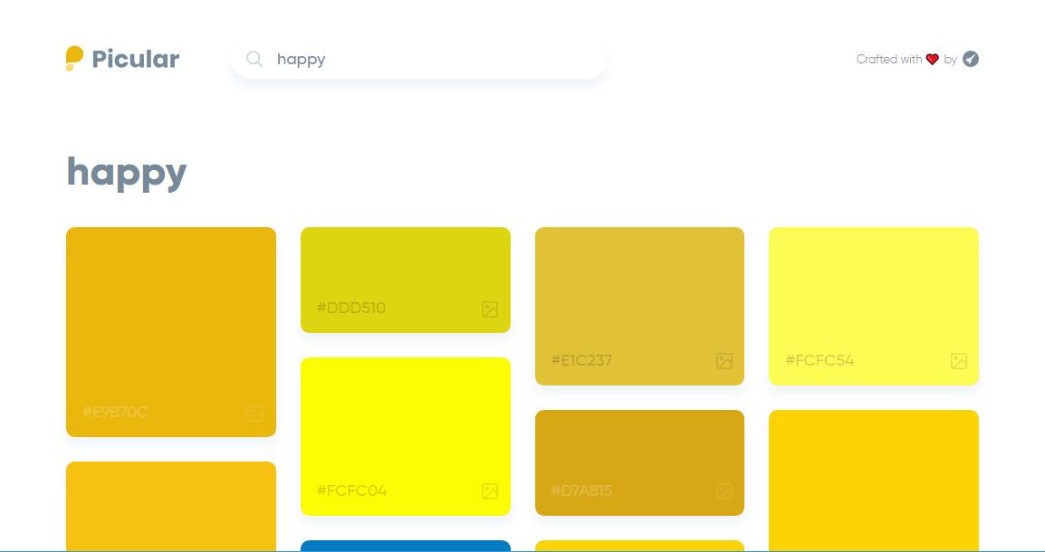 Outil pour trouver une couleur