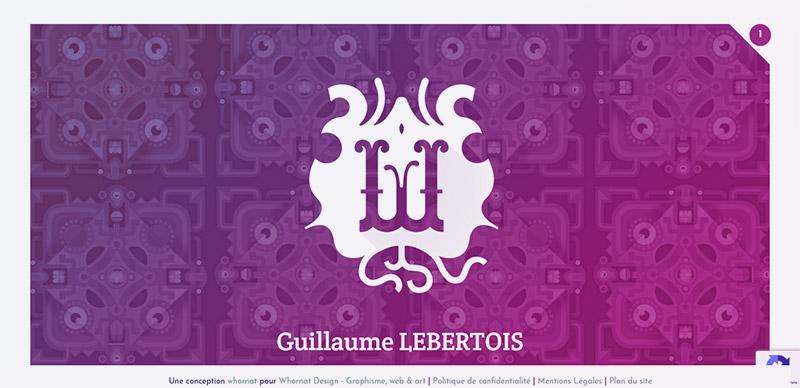 Guillaume Lebertois, Graphiste à Orléans