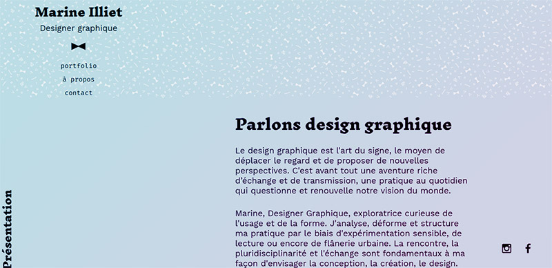 Marine Illiet, Designer Graphique