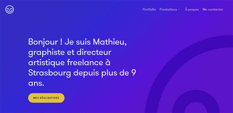 Mathieu Clauss, Graphiste, DA sur Strasbourg